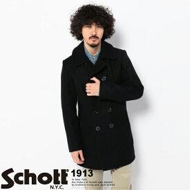 Schott/ショット 公式通販 | メルトン トール ピーコート753UST MELTON PEA COAT TALL【送料無料】