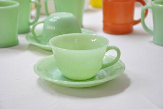 Fire King Alice Cup & saucer FireKing, Alice, Cup and saucer