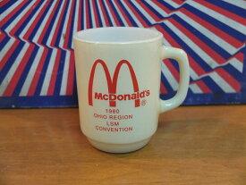 ファイヤーキング マクドナルド オハイオ・コンベンション 1980年 激レア 9オンスマグ FIREKING 【送料無料】