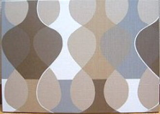 Scandinavian wall panel Malaga Mona Bjork design size M Brown