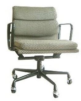 Eames Eames Herman Miller pads & Group Management Chair rare Alexander Giraldo fabric herman miller