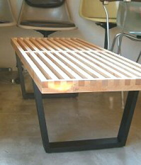Platform bench ♦ Maple