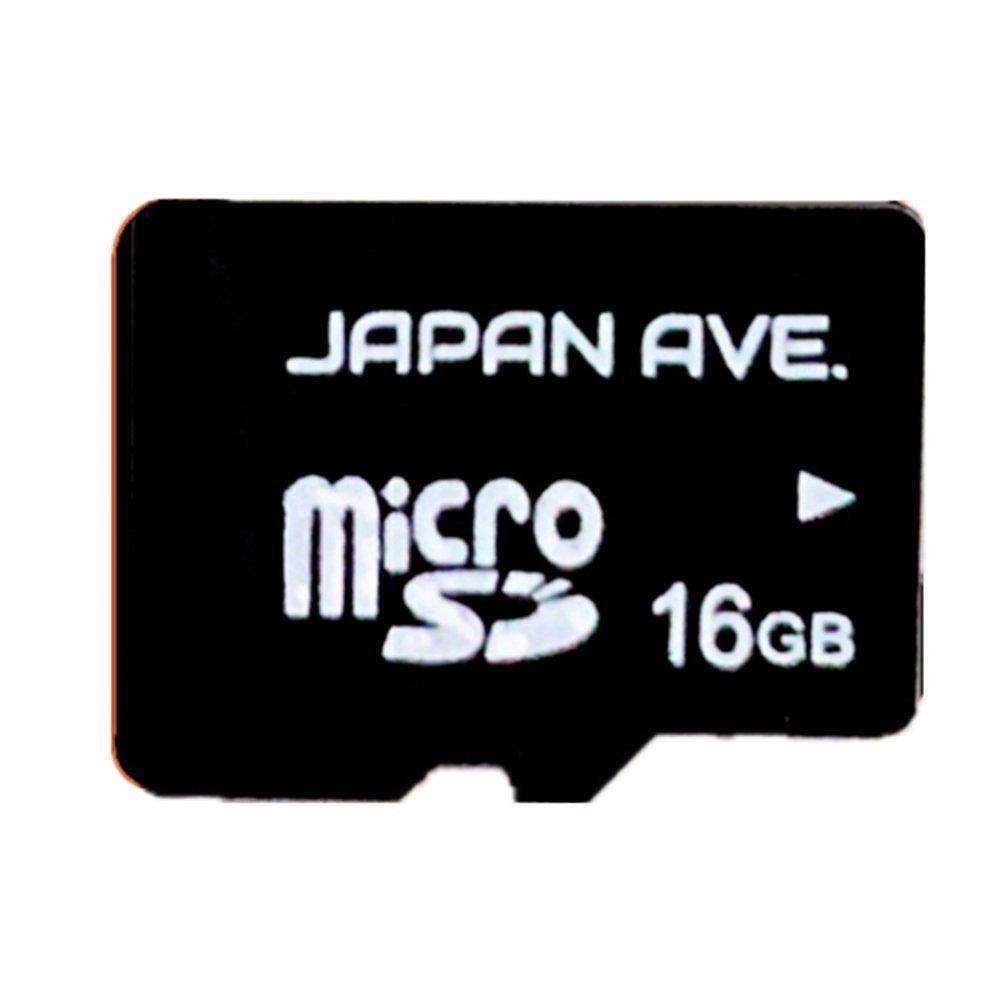 【 JAPAN AVE.製 ドライブレコーダー専用 microSDカード 】 マイクロSD カード micro SD カード 16GB
