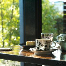 アラビア / パラティッシ コーヒーカップ&ソーサー ブラック [Arabia / Paratiisi]