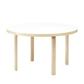 アルテック / 91 テーブル 円形 125cm ホワイトラミネート [Artek / 91 Table]