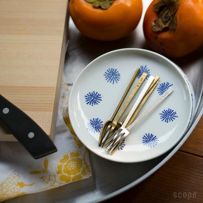 東屋 / 姫フォーク 真鍮銀めっき 5本セット