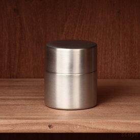 東屋 / 茶筒 中 銅 錫めっき