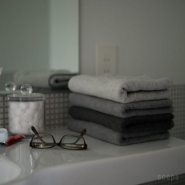 スコープ / house towel グレー フェイスタオル [scope]
