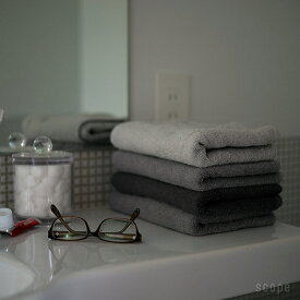 スコープ / ハウスタオル グレー フェイスタオル [scope house towel]