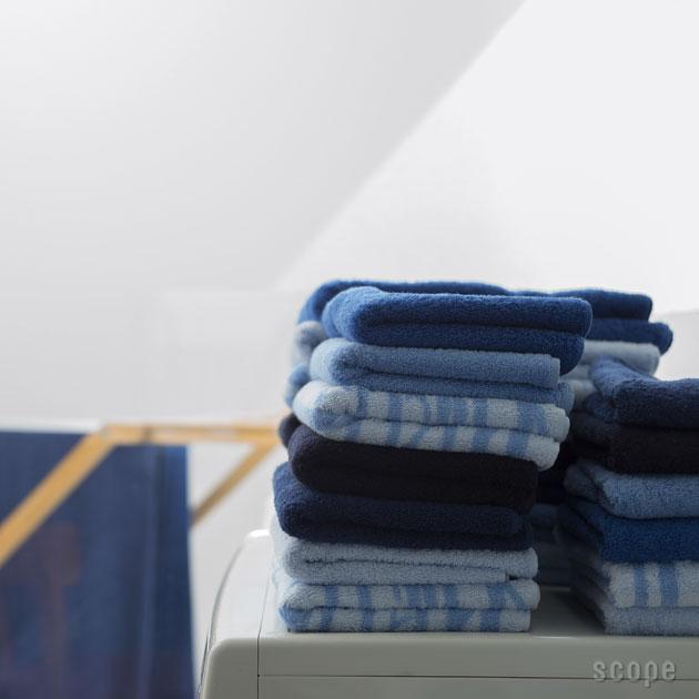 スコープ / house towel ブルー フェイスタオル [scope]
