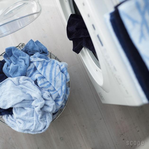 スコープ / house towel ブルー ミニバスタオル [scope]