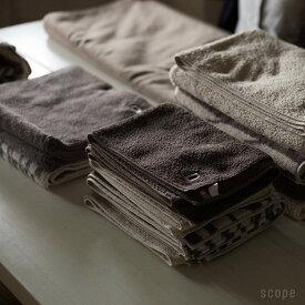スコープ / ハウスタオル ベージュ フェイスタオル [scope house towel]