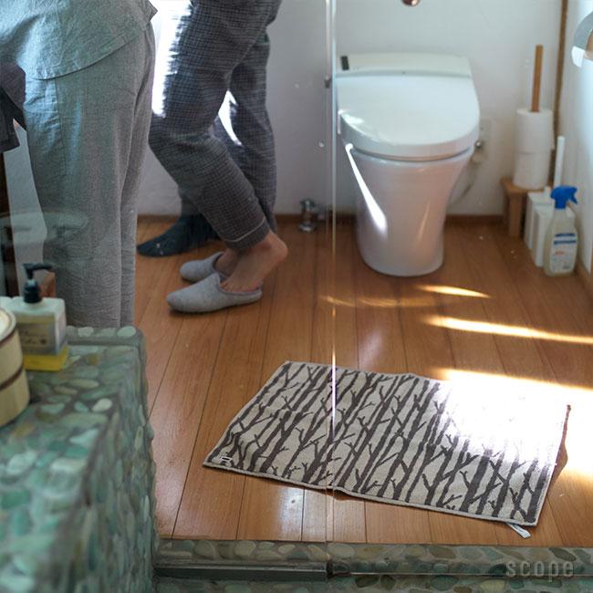 スコープ / house towel バスマット ベージュ [scope]