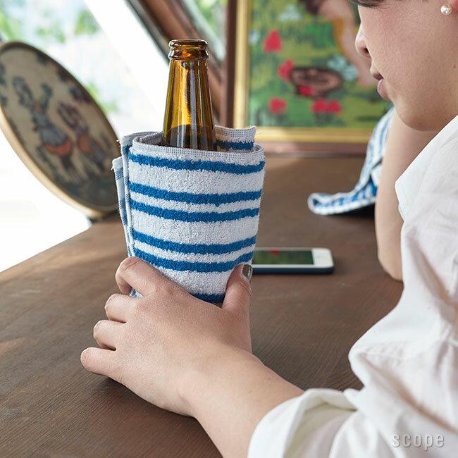 スコープ / house towel Ski ブルー ハンドタオル [scope]