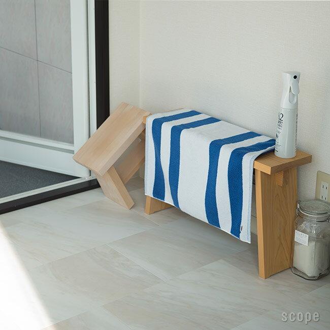 スコープ / house towel Ski ブルー バスマット [scope]