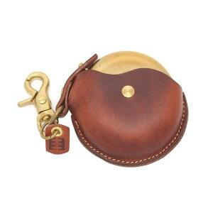 cramp(クランプ) 携帯灰皿 ブラウン 牛革と真鍮を使用した、高級感のある携帯灰皿。