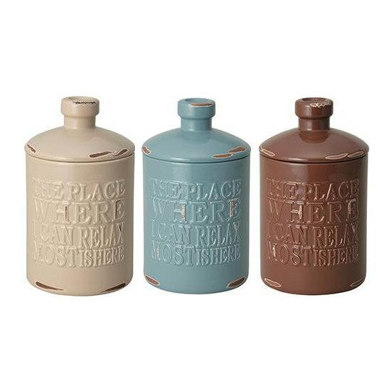 セトクラフト Vintage Style TOILET ROOM トイレポット(vintage) サンドベージュ・SP-1912-SB-230 ヴィンテージ風ボトルをモチーフにしたトイレタリーシリーズ!!