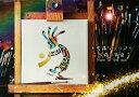 不思議なココペリー太陽の角笛ー(額縁なし A4サイズ)開運 アート 絵画 癒やし 金運 幸運