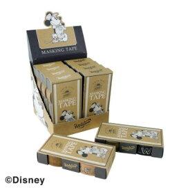 Workson ディズニーマスキングテープBOXセット クラッシックな雰囲気を出したマスキングテープのBOXセット