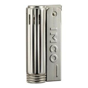 IMCO(イムコ) ジュニア オイルライター ロゴ入り ♯61393 シルバー シンプルな着火のコンパクトなライター