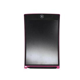 ペンシルボード 8.5インチ ピンク KPBK01PK サッと書けて、ワンタッチで削除!
