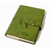 Officina Libris 手帳カバー Sサイズ グリーン off-ra101-nat-i-pea_green オフィシナリブリスのハンドメイド本革カバー。 送料無料