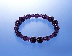 幸運アメジスト風水ブレス 紫水晶 パワーストーン ブレスレット