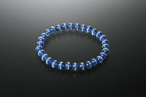 きらきら青めのうブレス 青メノウ パワーストーン ブレスレット メンズ レディース 効果 ハンドメイド 浄化 種類 意味 アクセサリー