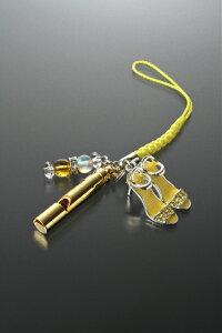 笛とハイヒールのストラップ 白水晶 黄水晶 パワーストーン ストラップ メンズ レディース 効果 ハンドメイド 浄化 種類 意味 アクセサリー クリスタル シトリン