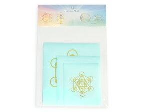 エナジーシール(メタトロンキューブ) 浄化 瞑想 ヒーリング【Crystal Mind】