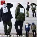 BANPS スノーボード コーチジャケット 17-18 LG BANPS 撥水 リバーシブル 迷彩 カモ Reversible CoahJacket ウェア ス…