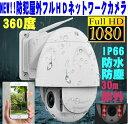 最新 屋外フルHD IPネットワークカメラ/ドーム型防犯カメラ光学ズーム/防水IP66フルハイビジョンIPカメラ録画野外用赤外/WIFI/Iphone/…