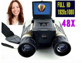 1080Pフルハイビジョンデジタルビデオカメラ双眼鏡 48倍 VPHDCAM5 充電対応 望遠カメラ セールランキング デジタルカメラ双眼鏡 充電式 望遠鏡カメラ望遠スコープ父の日セール