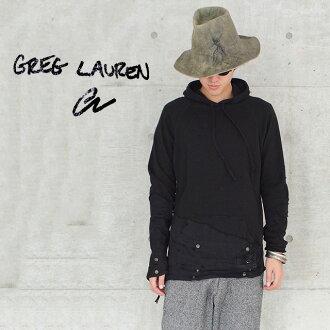 伯克利长袖连帽衫格雷格劳伦皮大衣男装黑色帐篷/摇粒绒连帽衫黑色