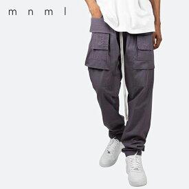 ミニマル カーゴパンツ mnml DROP CROTCH CARGO PANTS ドロップクロッチカーゴパンツ メンズ 21ML-SP764P C.GREY グレー【2021春夏】