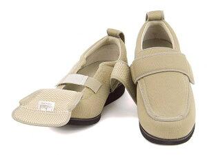 【左右両足セット販売】 介護シューズ 靴 安全 リハビリ むくみ 包帯 通気性 抗菌 撥水 衝撃吸収 レディース メンズ NEWケアフル 5E 幅広 男女兼用 外出用ケアシューズ ケアシューズあゆみ 7007