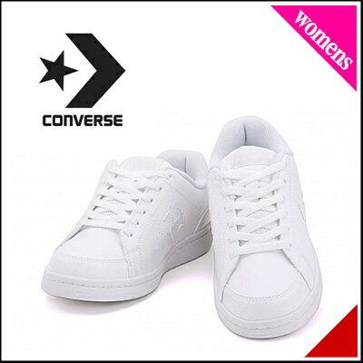 コンバース レディース ローカット オールラウンド スニーカー 白 通学靴 G converse LC 03 32698261235 ホワイト