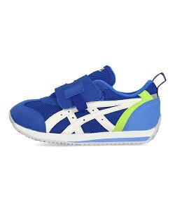 アシックス asics アイダホミニKT-ES2 IDAHO MINI KT-ES 2 ブルー/ホワイト 女の子 キッズ 子供靴 運動靴 通学靴 SUKU2 スクスク ランニングシューズ スニーカー 通気性 クッション性 カジュアル スポー