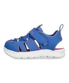 スケッチャーズ SKECHERS Cフレックスサンダル2.0 C-FLEX SANDAL 2.0-PLAYFUL TREK ブルー 女の子 キッズ 子供靴 運動靴 通学靴 ベビーシューズ サンダル 軽量 クッション性 カジュアル デイリー スポーツ スクール 学校 302100N