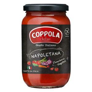 コッポラ ナポレターナ ソース [瓶] 350g x 12本[ケース販売][メモス/食品/イタリア/トマト製品/632-805]【キャンセル・返品不可】