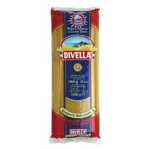 ディヴェッラ スパゲッティ リストランテ (約1.75mm) 1kg x 12袋[ケース販売][メモス/食品/イタリア/ロングパスタ/606-165]【キャンセル・返品不可】