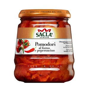 サクラ プラムトマトのアル フォルノぺぺロン [瓶] 285g x 6個[ケース販売][モンテ イタリア パスタソース 005280] ギフト プレゼント 敬老の日