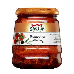 サクラ プラムトマトのアル フォルノ オリーブ [瓶] 285g x 6個[ケース販売][モンテ イタリア パスタソース 005281] 母の日 父の日 ギフト