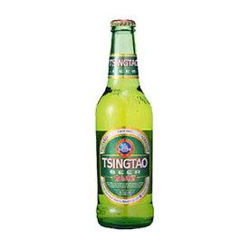 チンタオ 青島 ビール 330ml x 24本 あす楽対応 [瓶][ケース販売][同梱不可][ギフト不可]