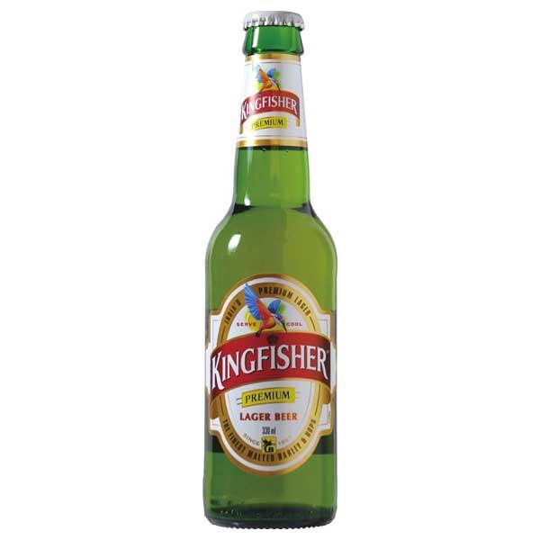 キングフィッシャー [瓶] 330ml x 24本 [ケース販売][2ケースまで同梱可能]