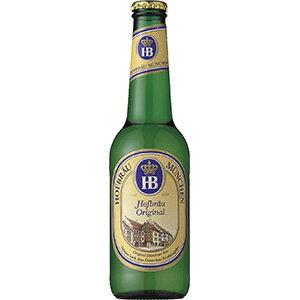 ホフブロイ オリジナル [瓶] 330ml x 24本 [ケース販売][2ケースまで同梱可能]