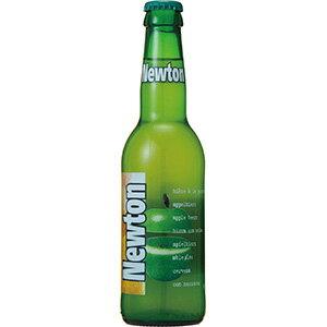 ニュートン(青りんごビール) [瓶] 330ml x 24本 [ケース販売][2ケースまで同梱可能]