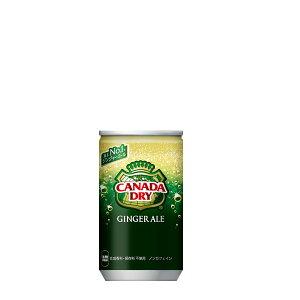 カナダドライ ジンジャーエール 160ml×30本 缶