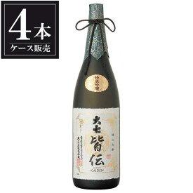大七 純米吟醸 皆伝 1.8L 1800ml x 4本 [ケース販売] [大七酒造/福島県 ]【ホワイトデー】