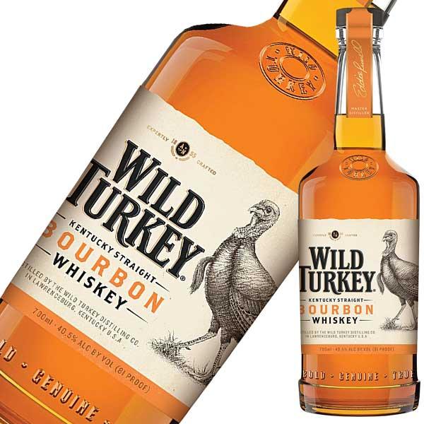 ワイルドターキー スタンダード 700ml 正規品 [WILD TURKEY(R)/アメリカ/バーボン/ウイスキー]